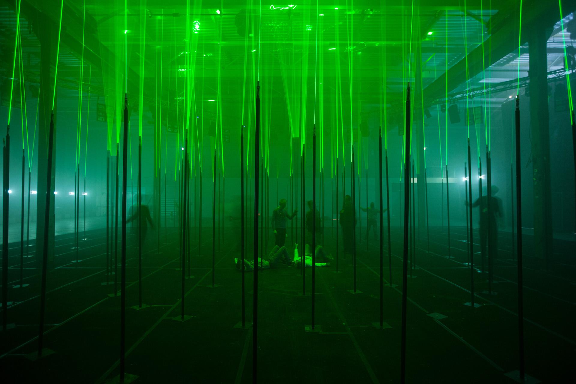 Laser Forest – Memo Akten